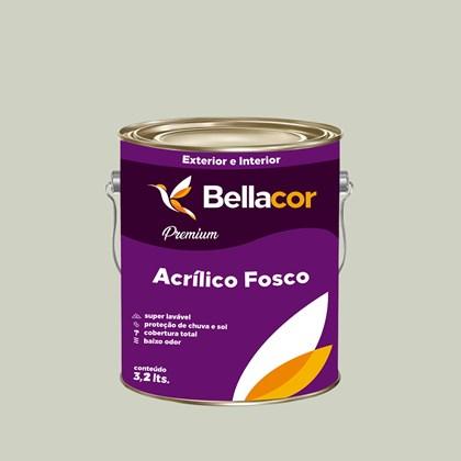 Tinta Acrílica Fosca Premium A48 Verde Água 3,2L Bellacor