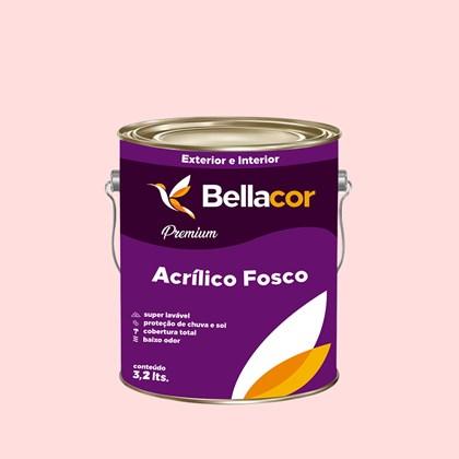 Tinta Acrílica Fosca Premium A52 Perfume de Rosas 3,2L Bellacor