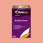 Tinta Acrílica Fosca Premium A54 Creme de Pitanga 16L Bellacor