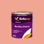 Tinta Acrílica Fosca Premium A54 Creme de Pitanga 3,2L Bellacor