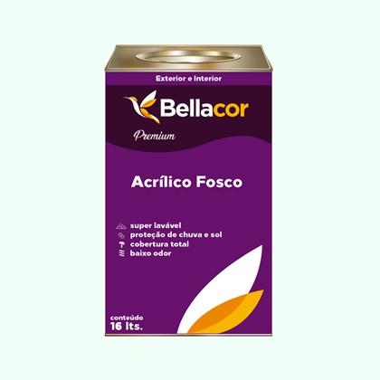 Tinta Acrílica Fosca Premium A58 Verde Lago 16L Bellacor