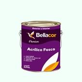 Tinta Acrílica Fosca Premium A58 Verde Lago 3,2L Bellacor