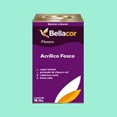Tinta Acrílica Fosca Premium A63 Verde Paradisíaco 16L Bellacor