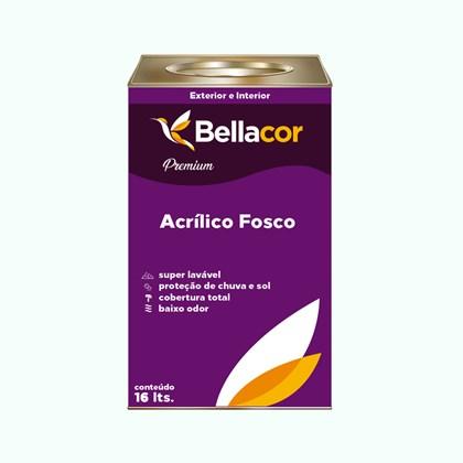 Tinta Acrílica Fosca Premium A64 Sonho de Infância 16L Bellacor