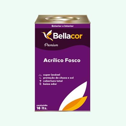 Tinta Acrílica Fosca Premium A65 Verde Equilíbrio 16L Bellacor