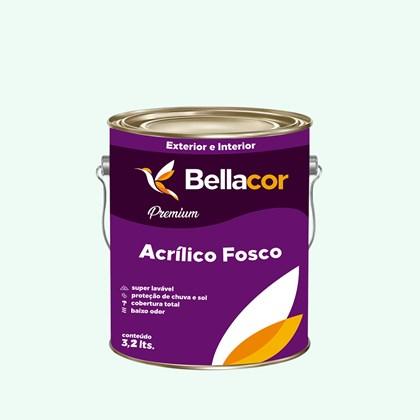 Tinta Acrílica Fosca Premium A65 Verde Equilíbrio 3,2L Bellacor