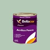 Tinta Acrílica Fosca Premium A69 Verde Claro 3,2L Bellacor