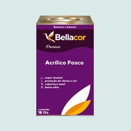 Tinta Acrílica Fosca Premium A73 Verde Havaí 16L Bellacor