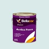 Tinta Acrílica Fosca Premium A73 Verde Havaí 3,2L Bellacor