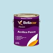 Tinta Acrílica Fosca Premium A76 Azul Delicado 3,2L Bellacor