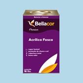 Tinta Acrílica Fosca Premium A77 Azul Correnteza 16L Bellacor