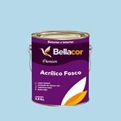 Tinta Acrílica Fosca Premium A77 Azul Correnteza 3,2L Bellacor
