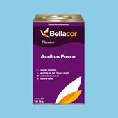 Tinta Acrílica Fosca Premium A78 Azul Chiffon 16L Bellacor