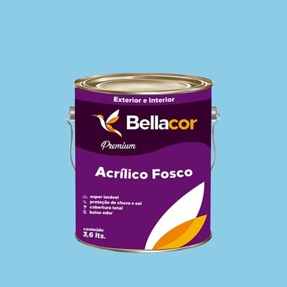 Tinta Acrílica Fosca Premium A78 Azul Chiffon 3,2L Bellacor