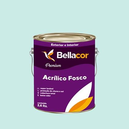 Tinta Acrílica Fosca Premium A79 Azul Bebê 3,2L Bellacor