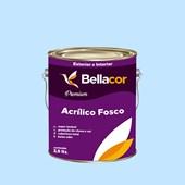 Tinta Acrílica Fosca Premium A80 Azul Celeste 3,2L Bellacor
