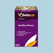 Tinta Acrílica Fosca Premium A83 Azul Claro 16L Bellacor