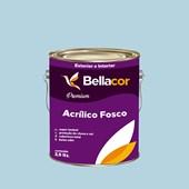 Tinta Acrílica Fosca Premium A83 Azul Claro 3,2L  Bellacor