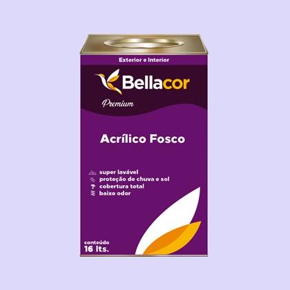 Tinta Acrílica Fosca Premium A85 Fio de Nylon 16L Bellacor
