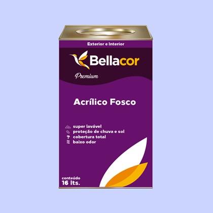 Tinta Acrílica Fosca Premium A86 Anil 16L Bellacor