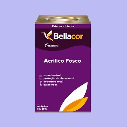 Tinta Acrílica Fosca Premium A87 Águas do Porto 16L Bellacor