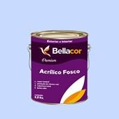 Tinta Acrílica Fosca Premium A89 Azul Citrino 3,2L Bellacor