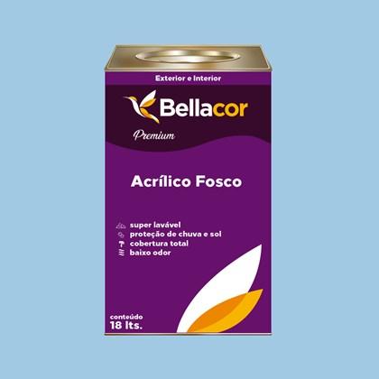 Tinta Acrílica Fosca Premium A90 Azul Maya 16L  Bellacor