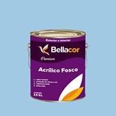 Tinta Acrílica Fosca Premium A90 Azul Maya 3,2L Bellacor