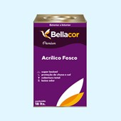 Tinta Acrílica Fosca Premium A91 Sopro de Inverno 16L Bellacor