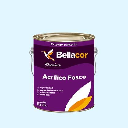 Tinta Acrílica Fosca Premium A91 Sopro do Inverno 3,2L Bellacor