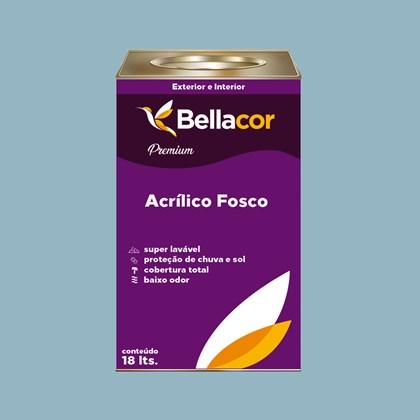 Tinta Acrílica Fosca Premium A93 Azul Raf 16L Bellacor