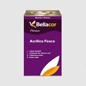 Tinta Acrílica Fosca Premium A96 Cinza Alumínio 16L Bellacor