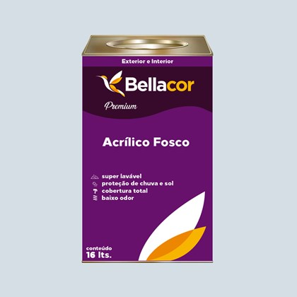 Tinta Acrílica Fosca Premium A98 Pedra Bela 16L Bellacor