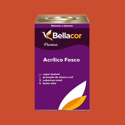 Tinta Acrílica Fosca Premium B05 Vermelho Coloral 16L Bellacor