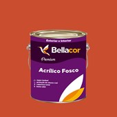 Tinta Acrílica Fosca Premium B05 Vermelho Coloral 3,2L Bellacor