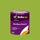 Tinta Acrílica Fosca Premium B07 Verde Kiwi 3,2L Bellacor