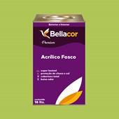 Tinta Acrílica Fosca Premium B08 Verde Limão 16L Bellacor