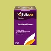 Tinta Acrílica Fosca Premium B09 Verde Lima 16L Bellacor