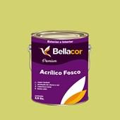 Tinta Acrílica Fosca Premium B09 Verde Lima 3,2L Bellacor