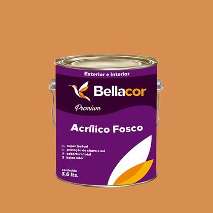 Tinta Acrílica Fosca Premium B101 Bronze 3,2L Bellacor