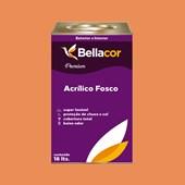 Tinta Acrílica Fosca Premium B102 Doce de Mamão 16L Bellacor