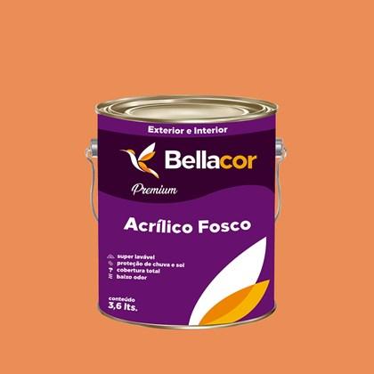 Tinta Acrílica Fosca Premium B102 Doce de Mamão 3,2L Bellacor