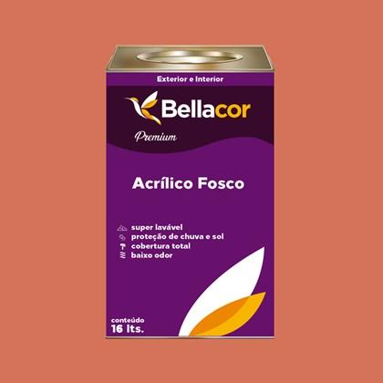 Tinta Acrílica Fosca Premium B18 Acerola 16L Bellacor