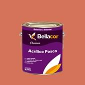 Tinta Acrílica Fosca Premium B18 Acerola 3,2L Bellacor
