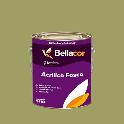 Tinta Acrílica Fosca Premium B32 Verde Caule 3,2L Bellacor