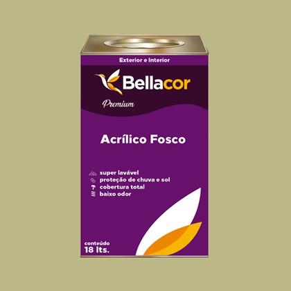 Tinta Acrílica Fosca Premium B33 Verde Primavera 16L Bellacor