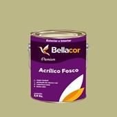 Tinta Acrílica Fosca Premium B33 Verde Primavera 3,2L Bellacor