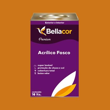 Tinta Acrílica Fosca Premium B41 Dourado 16L Bellacor