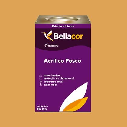 Tinta Acrílica Fosca Premium B42 Abóbora 16L Bellacor