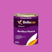 Tinta Acrílica Fosca Premium B51 Rosa Pink 3,2L Bellacor